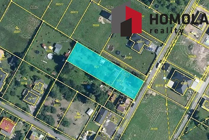 Pozemek 1521 m2 na prodej, Rychvald