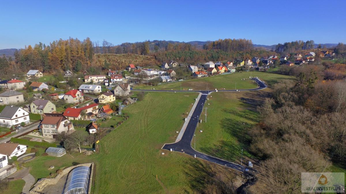 Prodej pozemku pro RD v obci Krhová, 1141m2