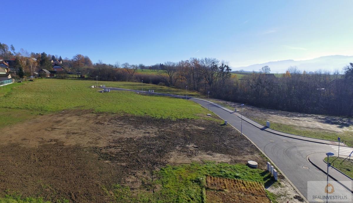 Prodej st.pozemku pro RD v obci Krhová, 1145m2