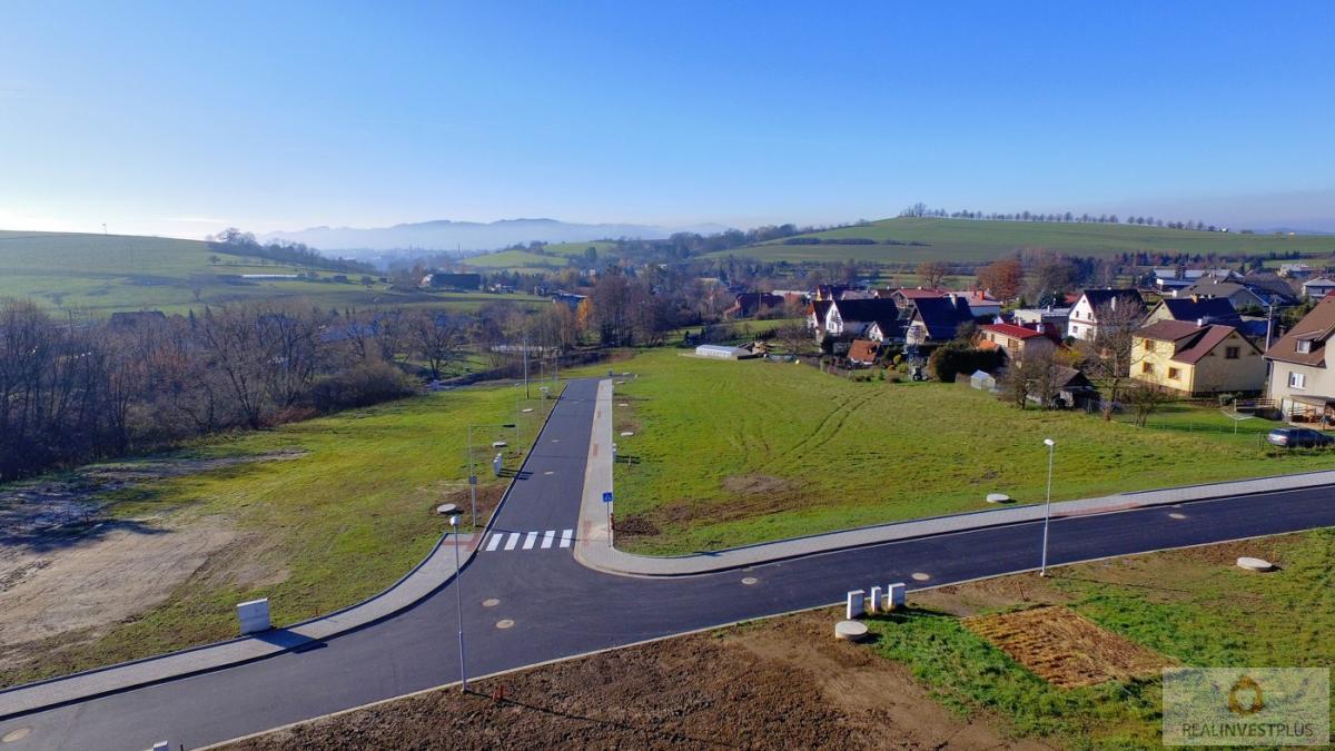 Pozemek pro bydlení v obci Krhová, 971m2