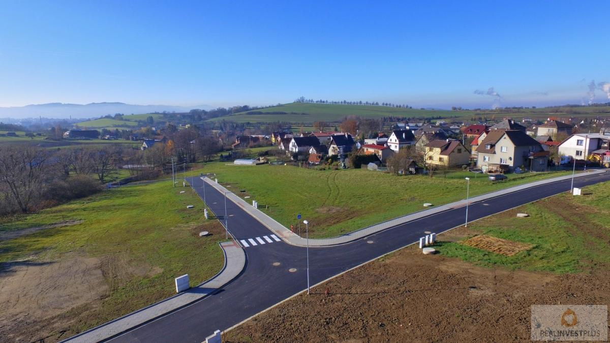 Pozemek pro bydlení v obci Krhová, 1107m2