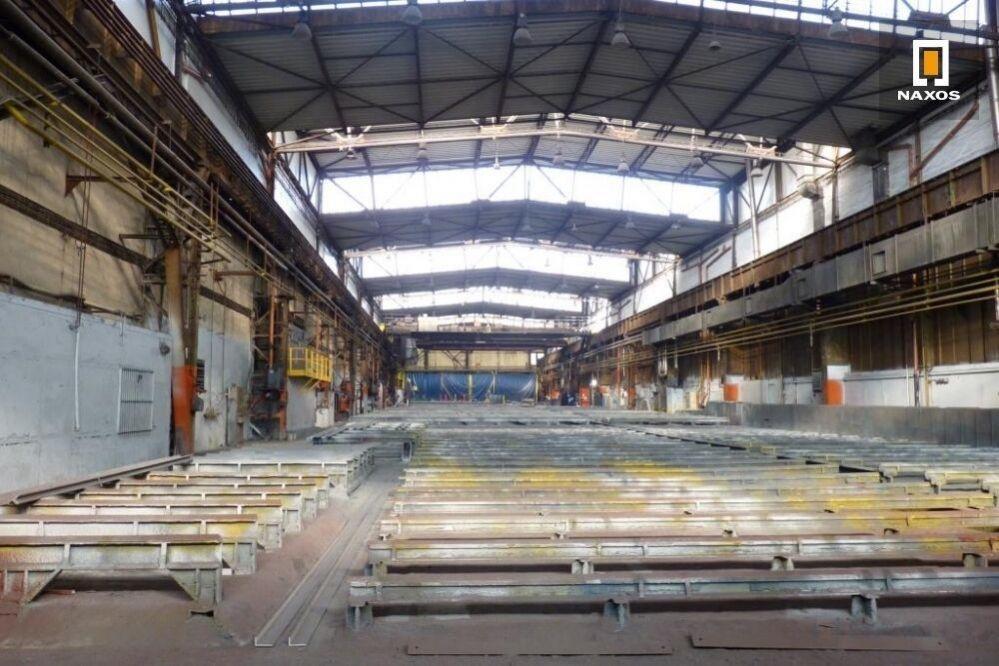 Průmyslová hala 3.000 m2 se dvěma mostovými jeřáby 10 t a 12,5 t, Ostrava