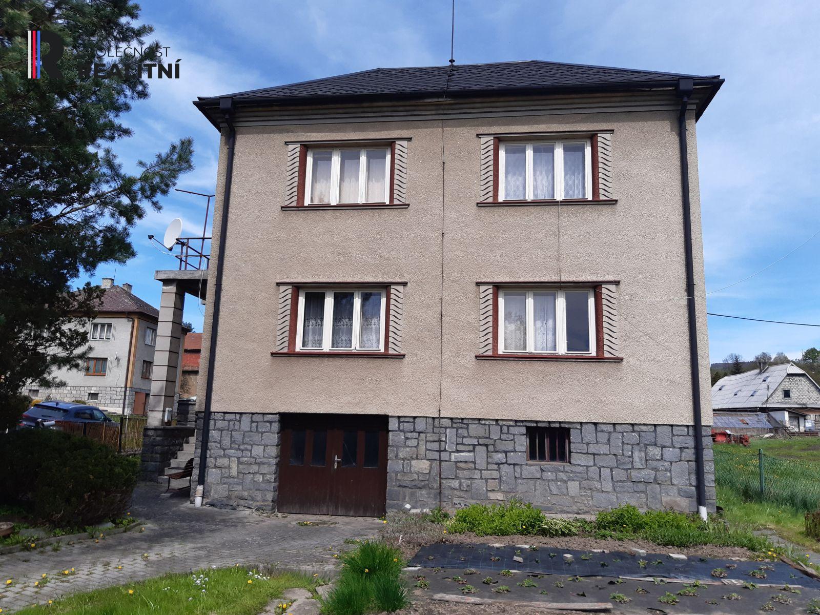 Prodej rodinného domu Bušín, okres Šumperk