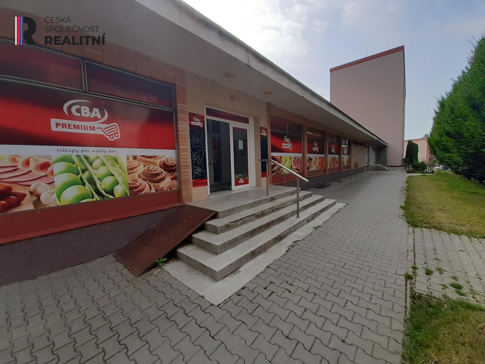 Pronájem obchodních prostor 378 m2, Šumperk
