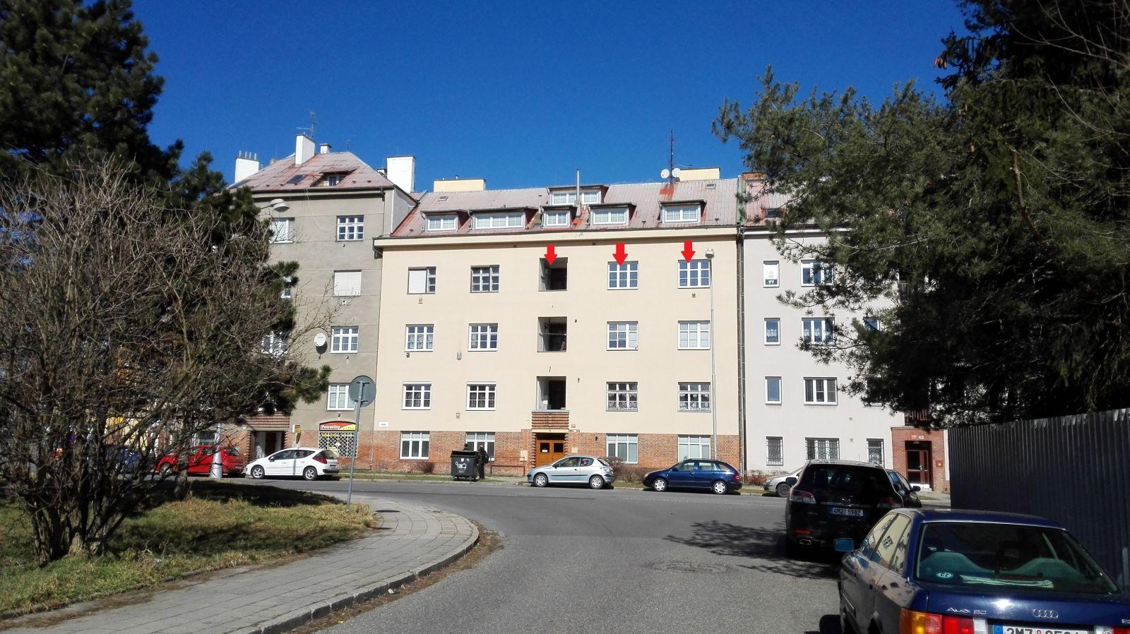 Pronájem bytu 1+1 poblíž centra  - Olomouc - Polská ul.