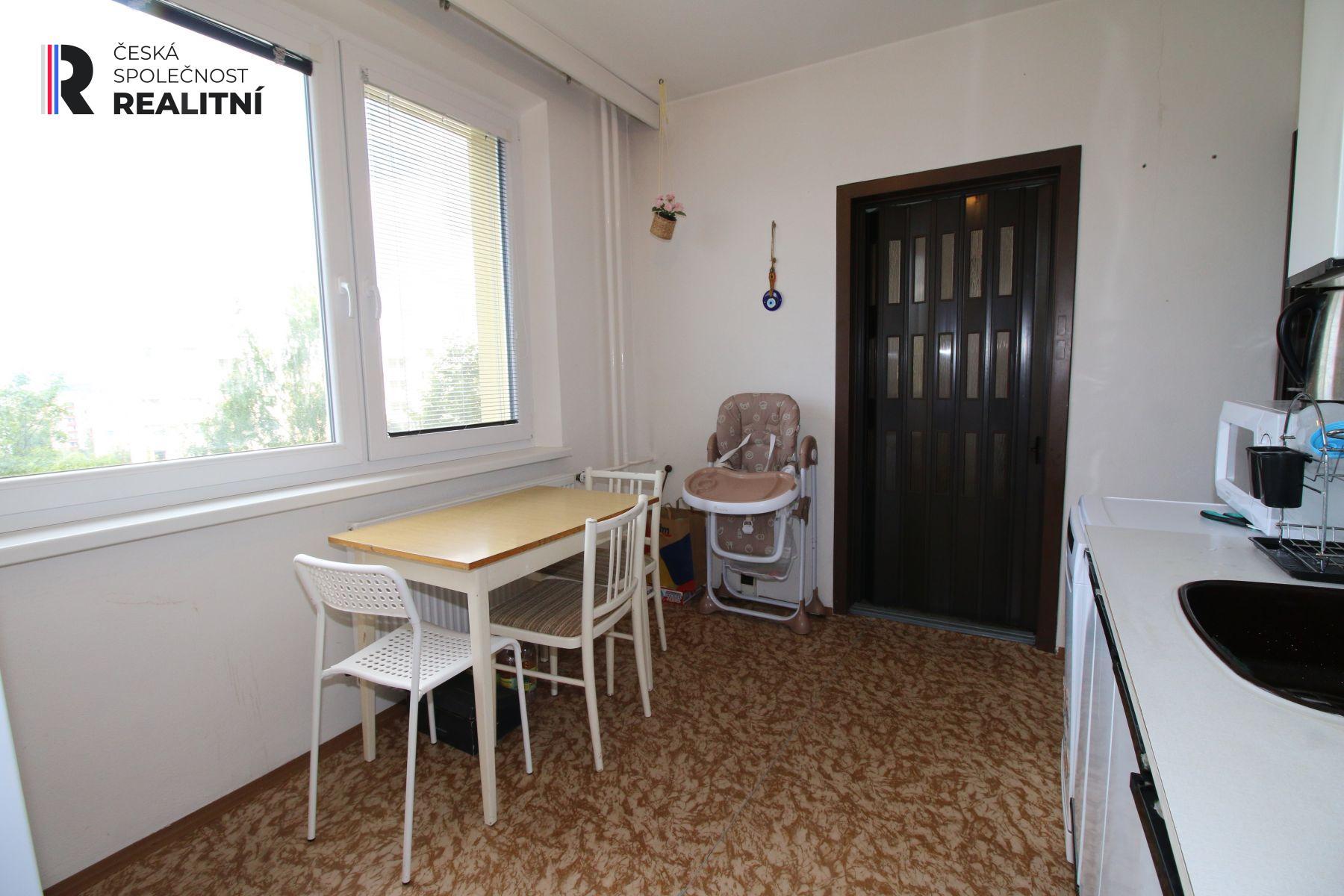 Prodej bytu 2+1 s lodžií, 59 m2, Teyschlova, Brno Bystrc