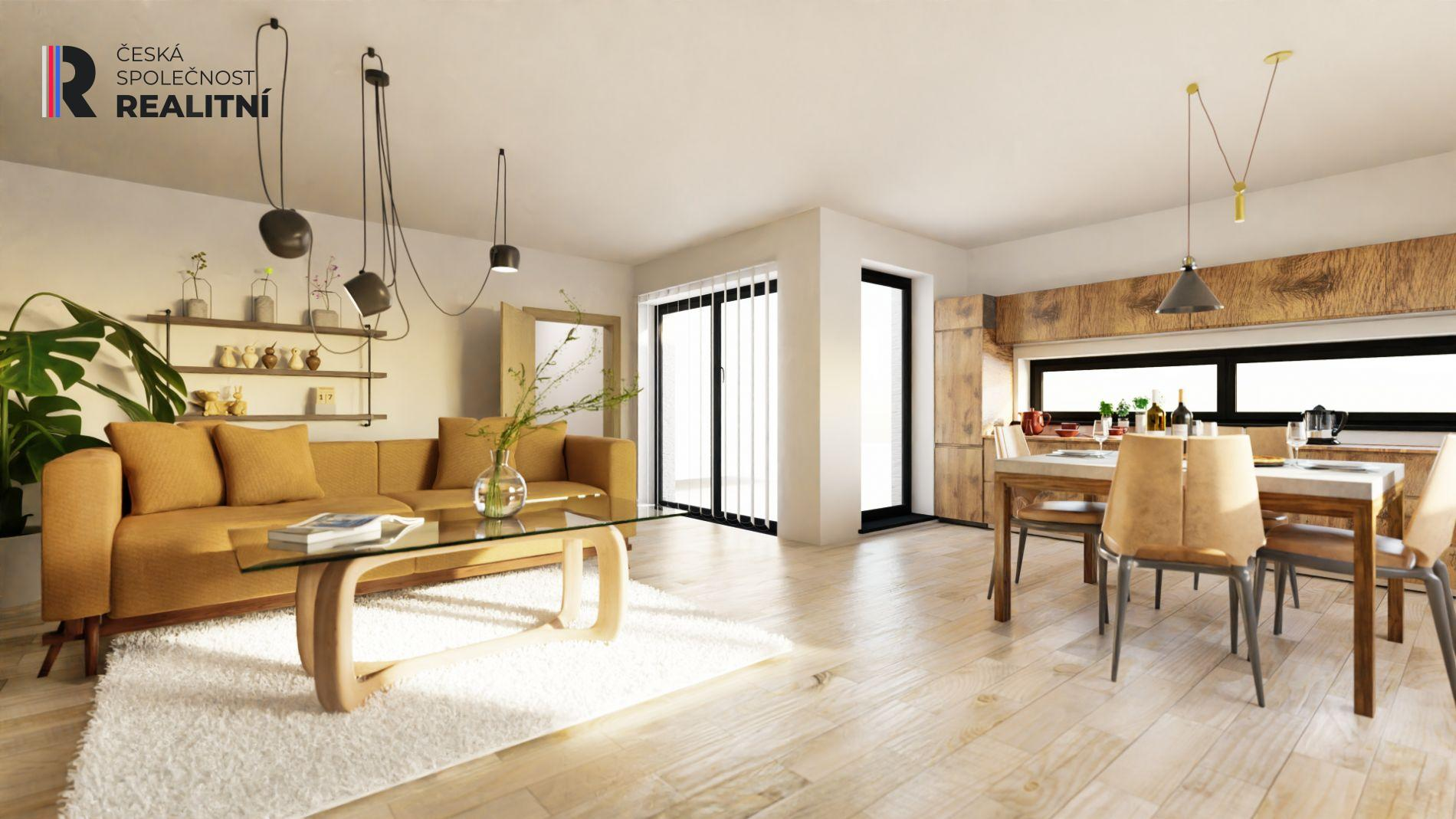 Prodej bytu 4+kk Rajhradice, 141 m2, 200 m2 zahrada