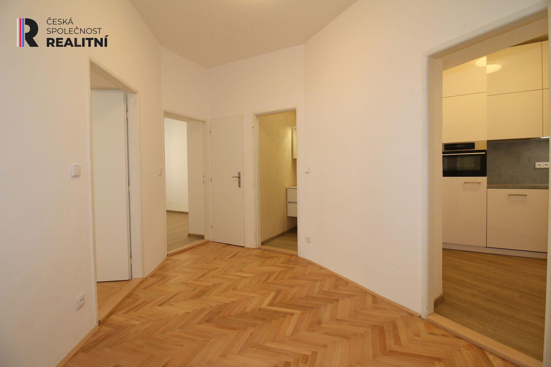 Prodej bytu 3+1, 69 m2, Jugoslávská, Brno Černá Pole