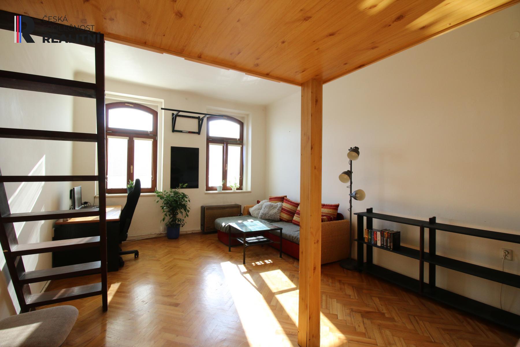 Byt 1+KK, Jugoslávská, Brno, v blízkosti centra, investiční příležitost
