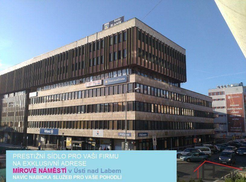 Pronájem, Kanceláře, 260 m2 - Ústí nad Labem-centrum