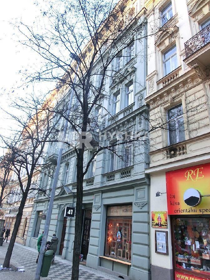 Pronájem bytu 3+kk, OV, 159 m2,  Korunní, Praha 2 - Vinohrady