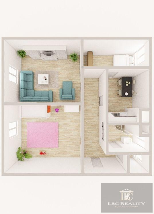 Prodej bytu 3+1 před kompletní rekonstrukcí