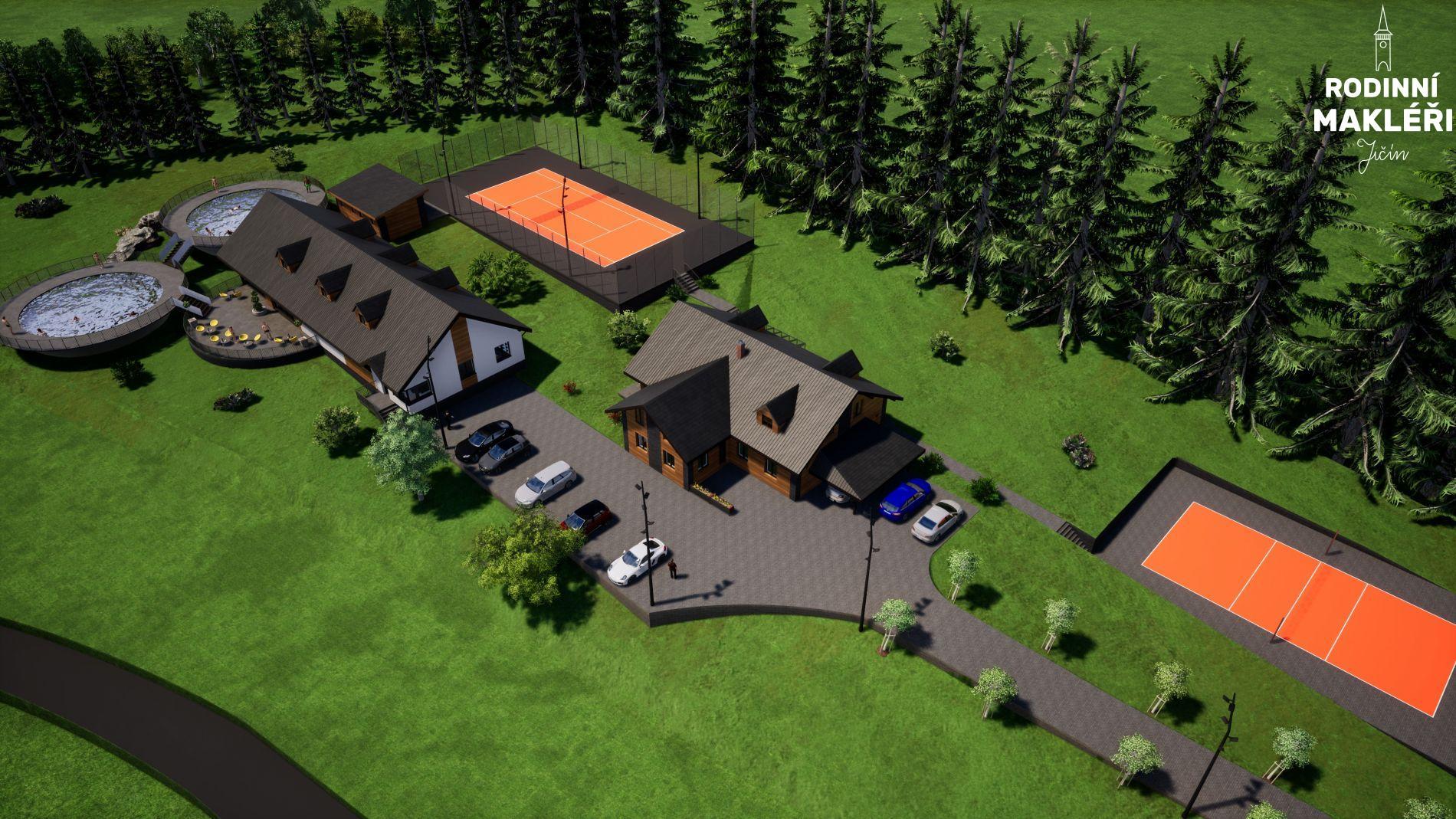 Stavební pozemky pro komerční účely, Nové Domky, Šumperk
