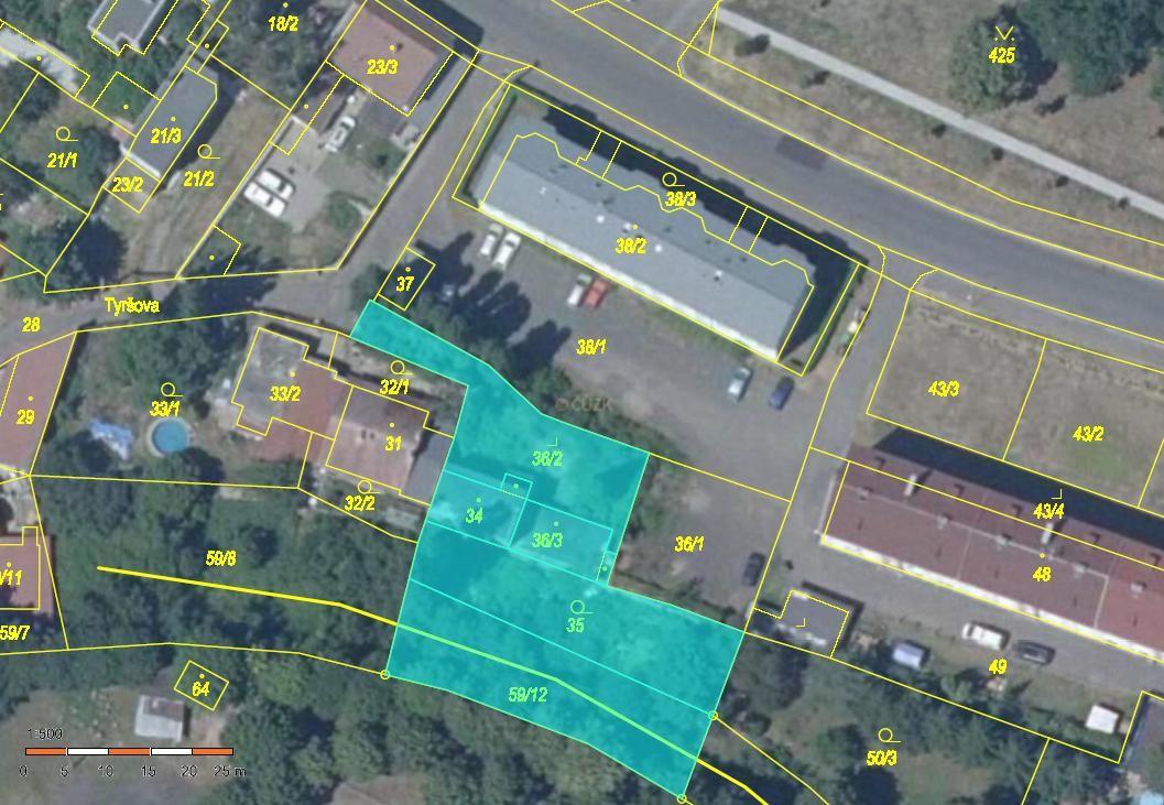 Prodej stavebního pozemku 1.223 m2