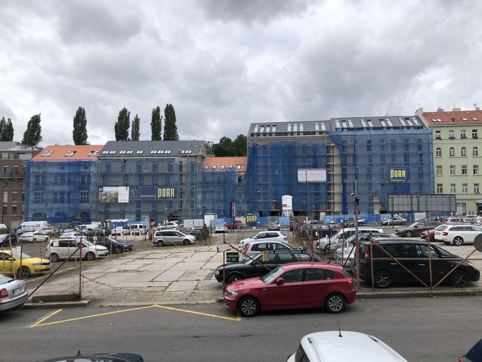 Novostavba mezonetu 2kk/T, 81 + 17 m2, Praha 3 - Žižkov