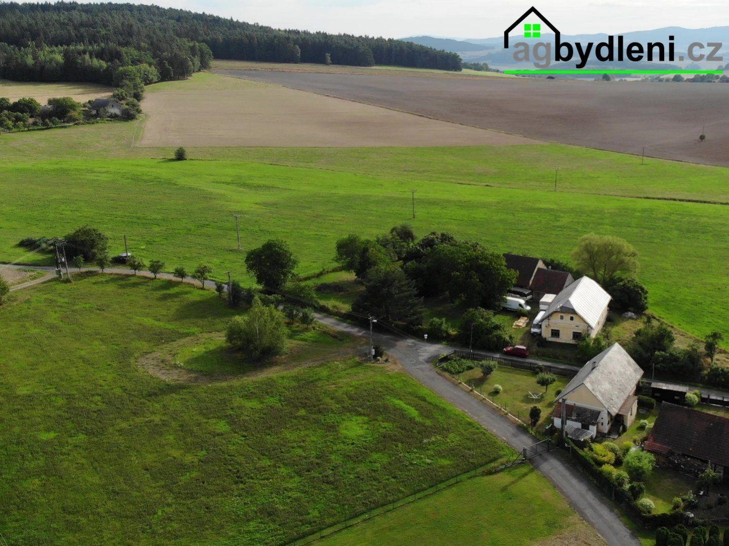 Prodej, pozemky pro bydlení, 1700 m2 ,Švihov ,Kamýk okres Klatovy