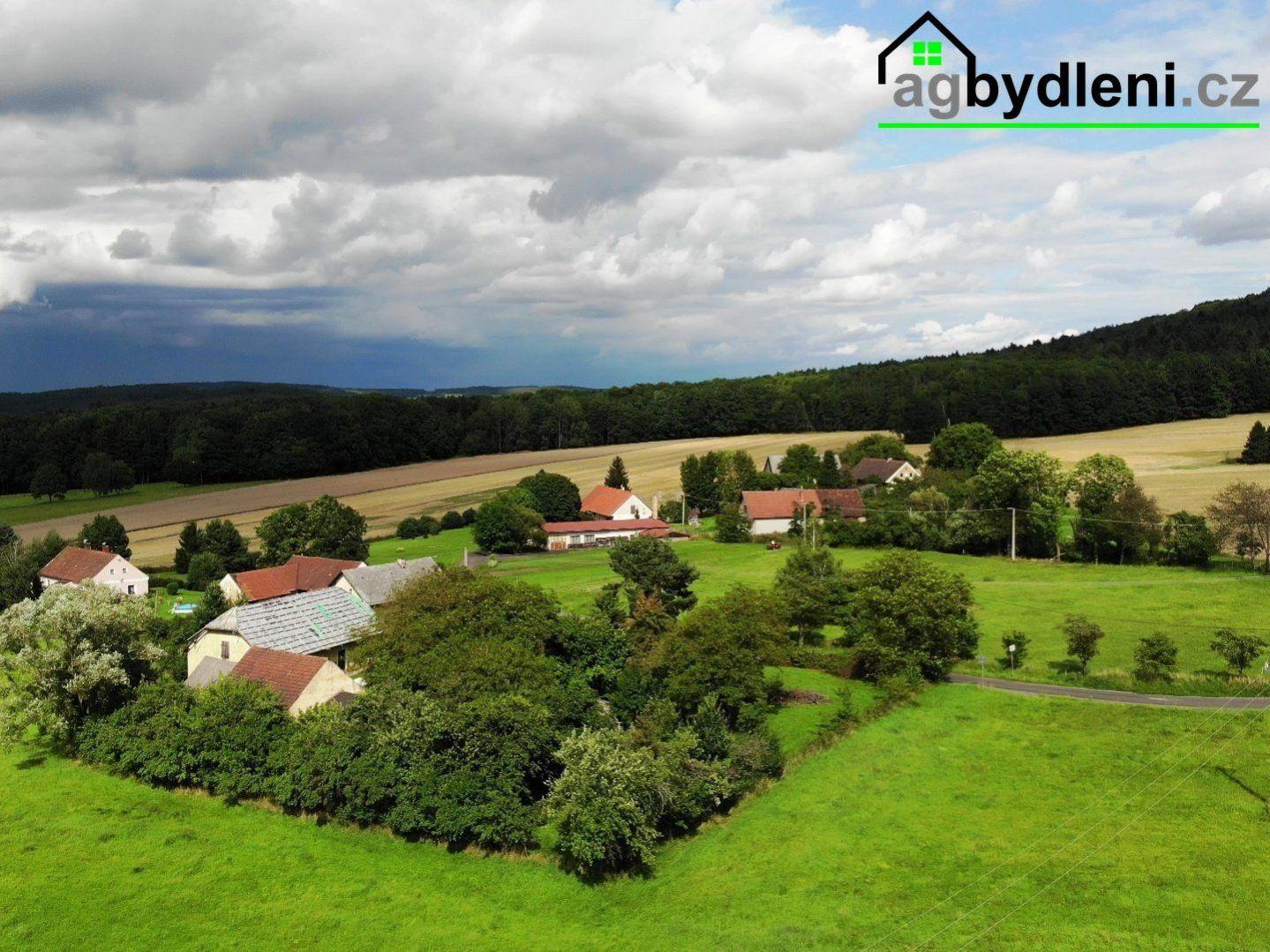 Prodej, pozemky pro bydlení, 1600 m2 ,Švihov ,Kamýk okres Klatovy