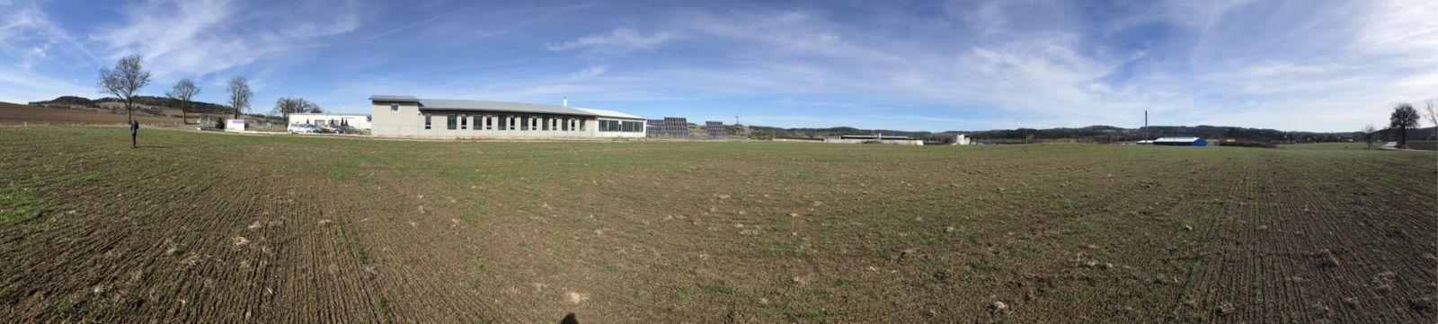 Pozemek pro výrobní či skladovací areál v Petrovicích