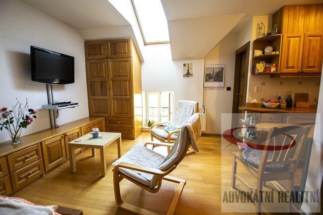 Exkluzivně Vám nabízím moc hezký byt 1+kk na skvělém místě v Bubenči ul. Českomalinská.