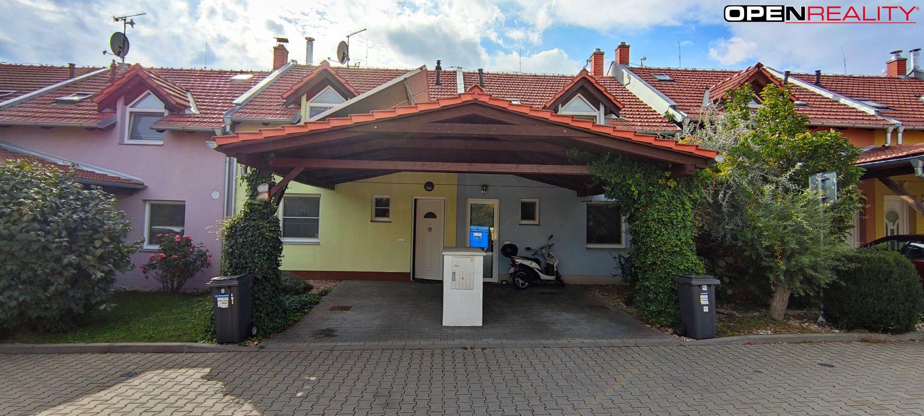 Pěkný RD 3+kk s park.stáním a terasou v Moravanech u Brna(1 km od Brna)