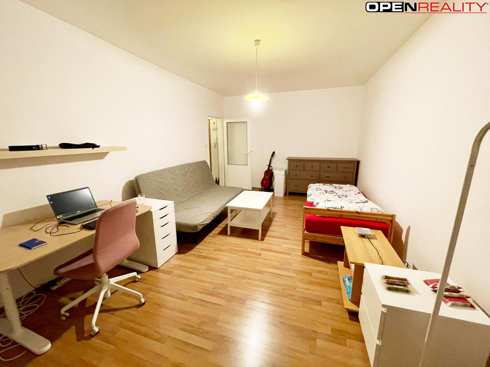 Pronájem bytu 1+1 40m2, Brno-Bystrc