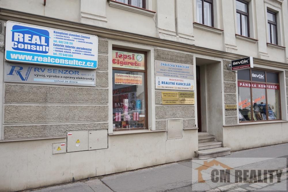 Prostějov, Poděbradovo nám., pronájem komerčního prostoru  cena 4600,-/měsíc + energie a služby