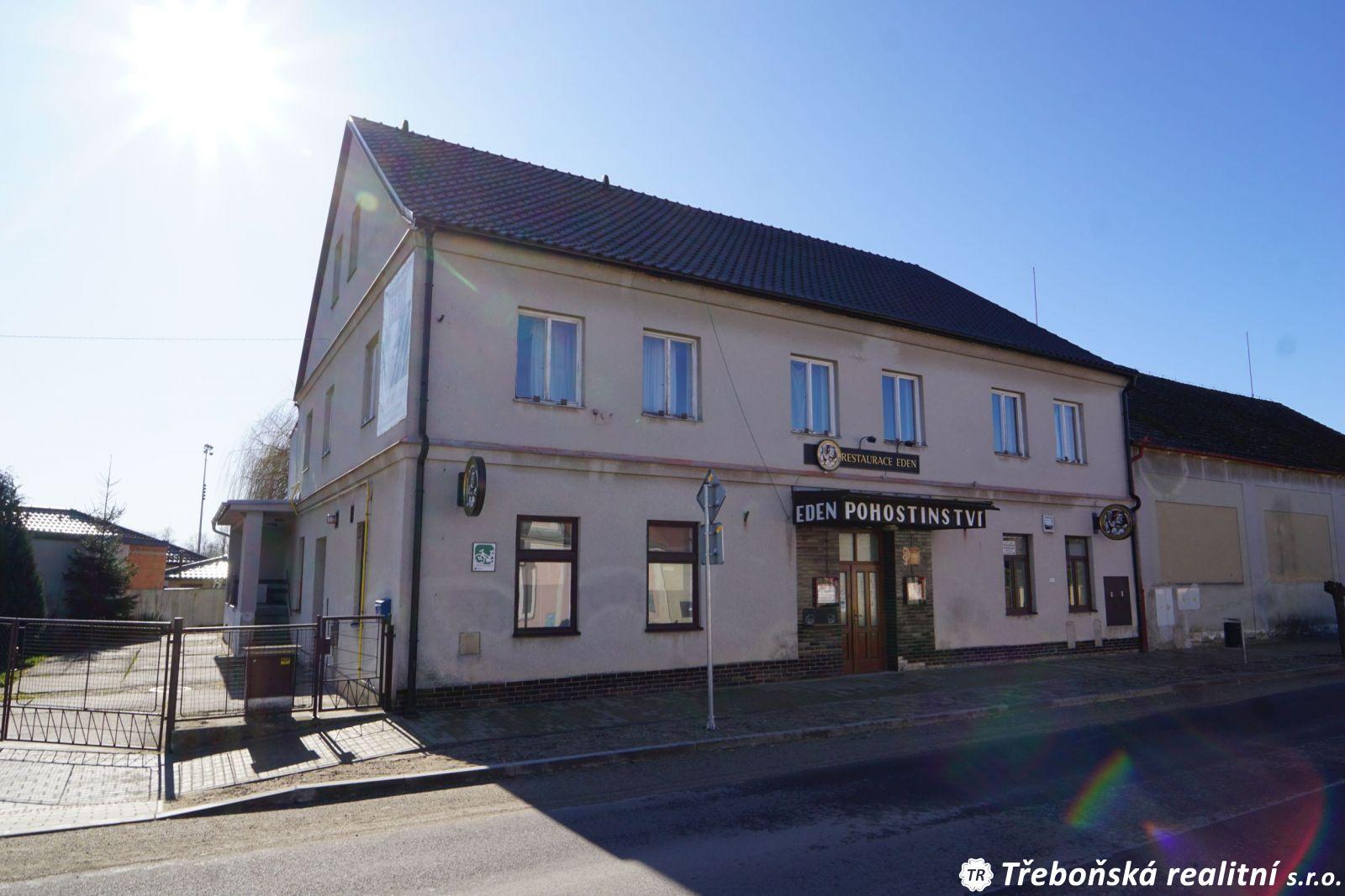 Prodej restaurace spenzionem vLomnici nad Lužnicí