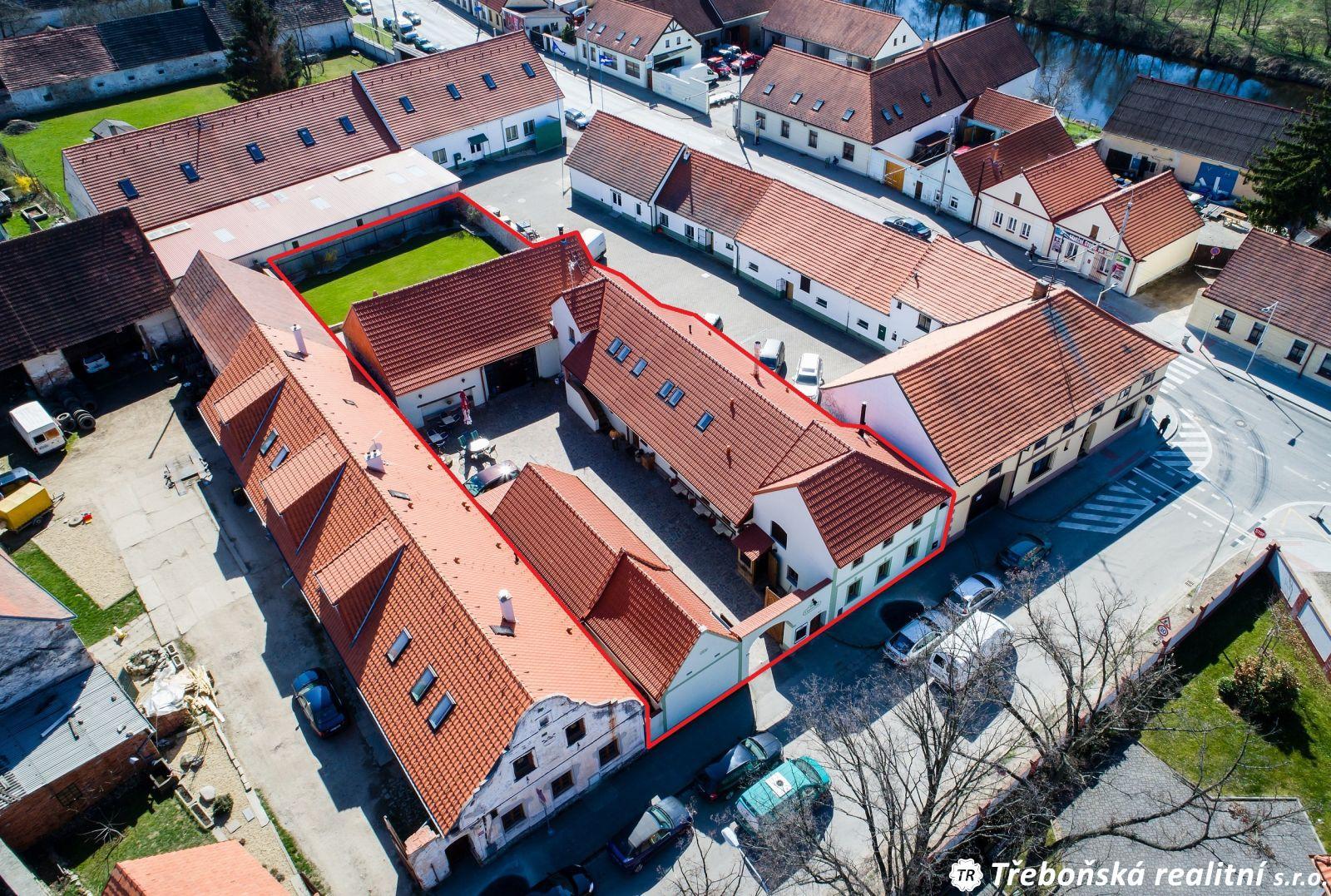 Prodej komerčního objektu České Budějovice