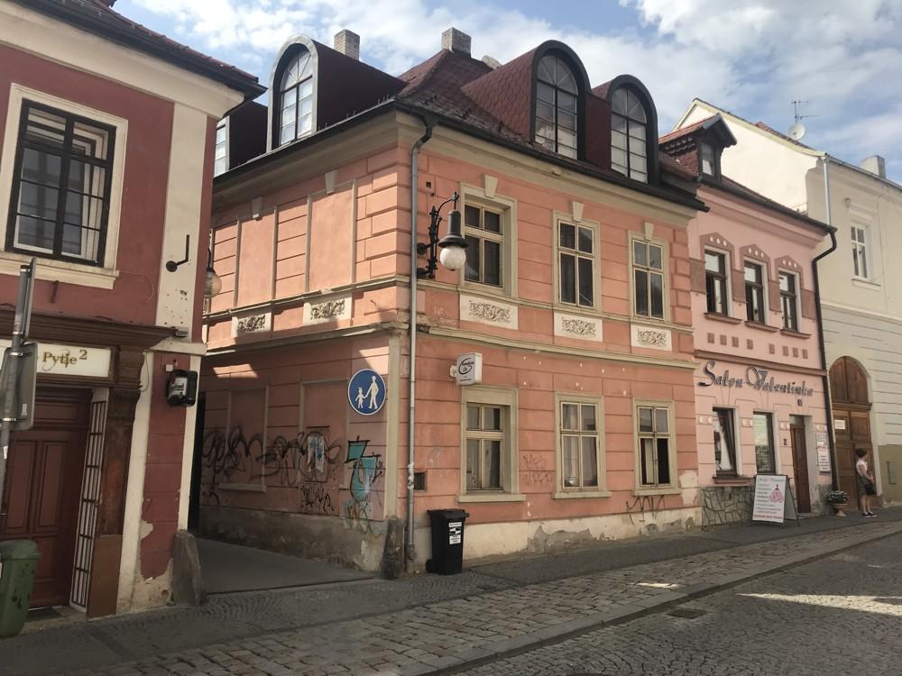 Na prodej rodinný dům v samotném centru města Česká Lípa