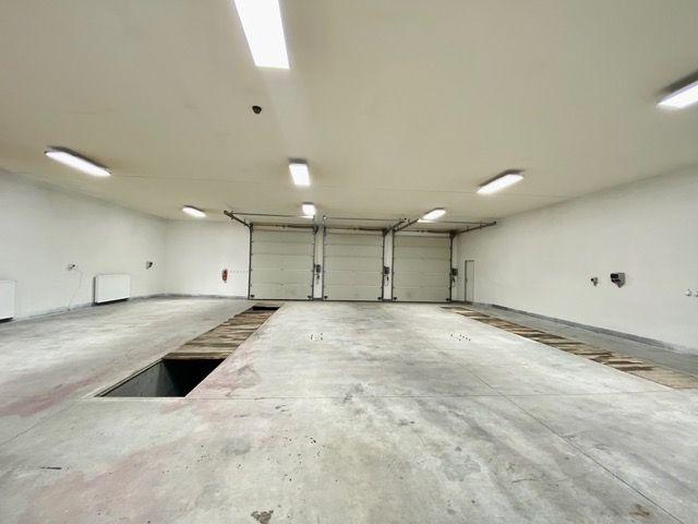 K pronájmu velká garáž, sklad, dílna, výrobna, nebytové prostory, průmyslová zóna Dubice u České Líp