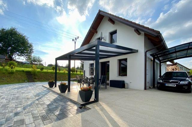 Na prodej rodinný dům 5+1, Sloup v Čechách, okr. Česká Lípa, zahrada, pergola, zahradní domek, parko