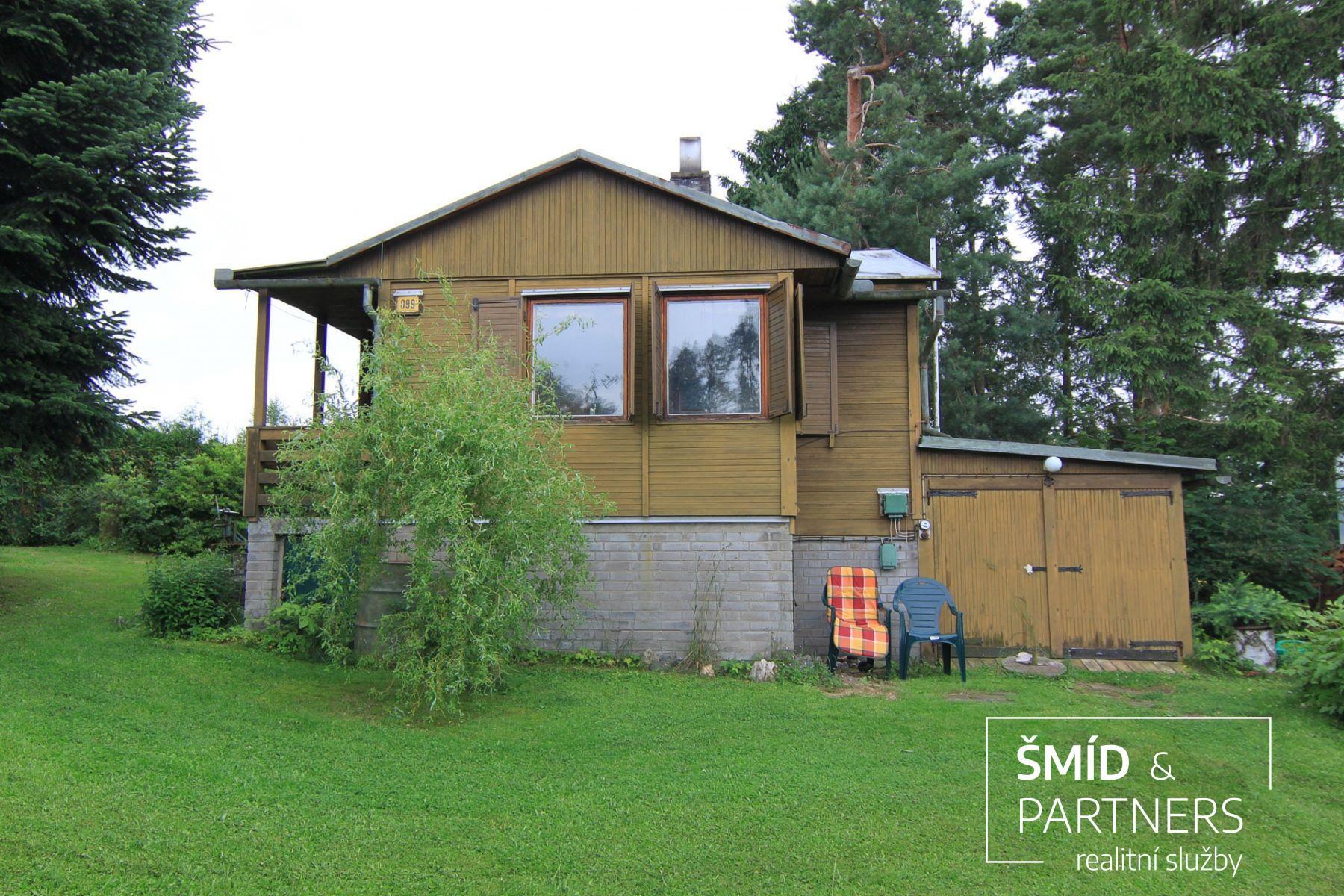 Prodej chaty 52 m2, pozemek 815 m2
