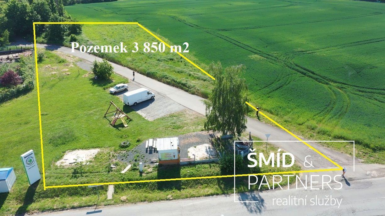 Prodej pozemku 3 850 m2, Čáslav