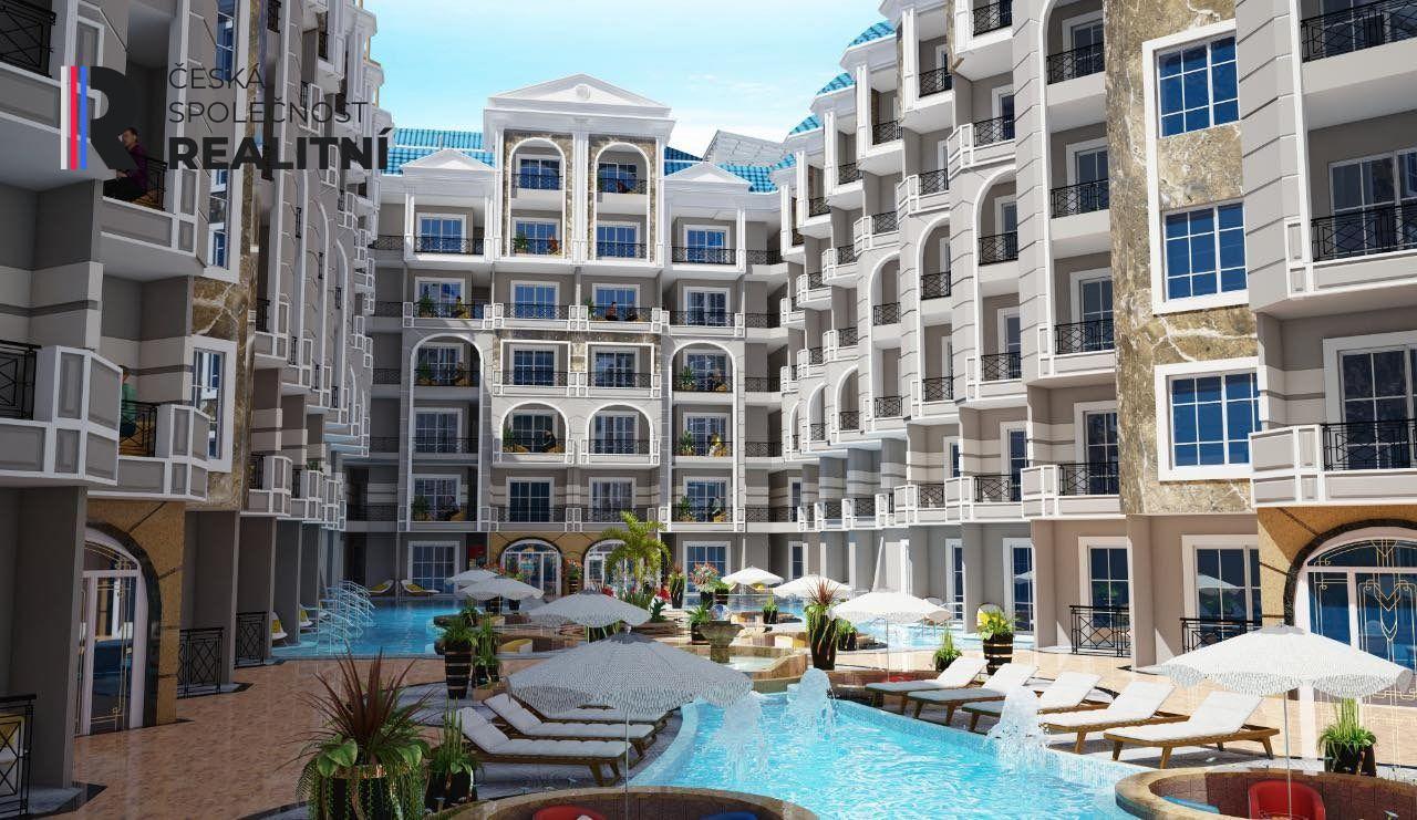 Prodej bytů 2 kk v novém resortu Julina Beach  Hurghada Egypt