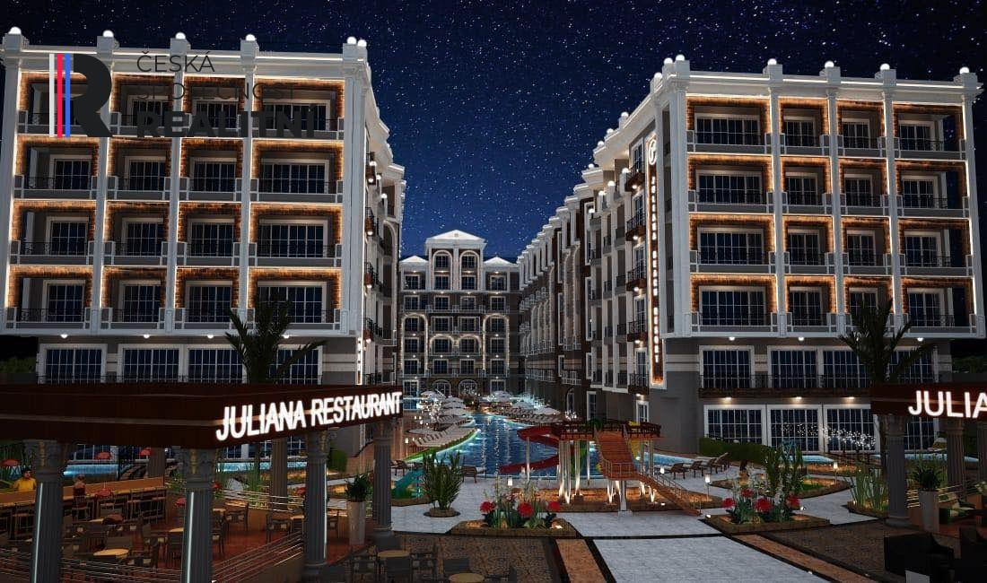 Prodej bytů 3 kk v novém resortu Julina Beach  Hurghada Egypt