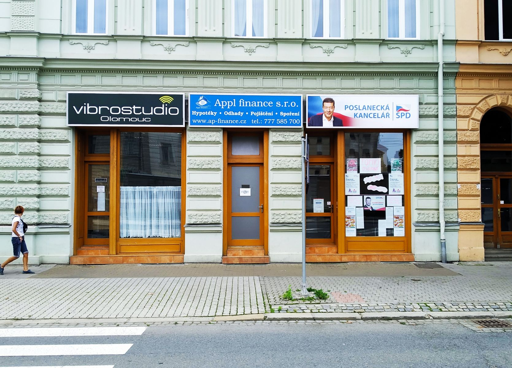 Pronájem Kanceláře 35m2  s výlohou v centru Olomouce - Havlíčkova 7