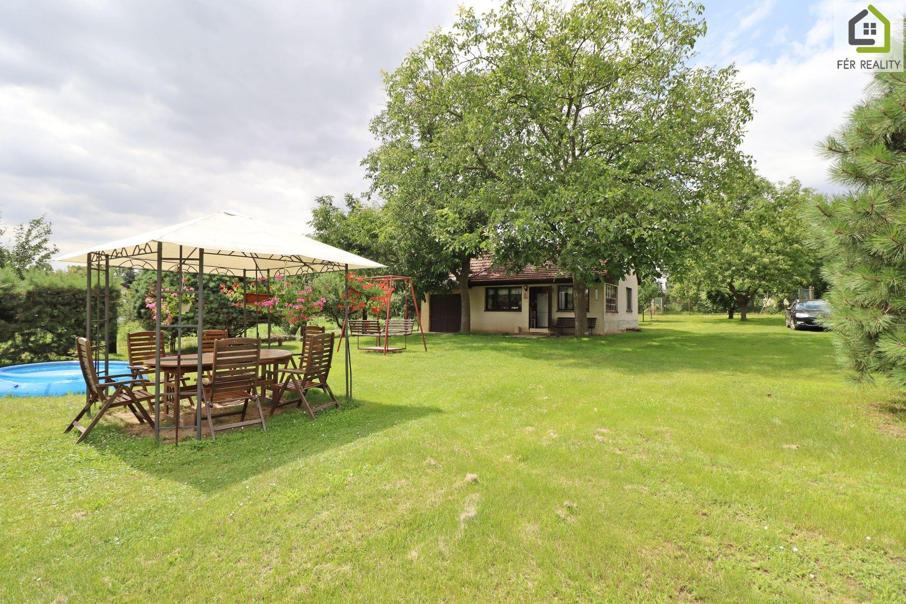 Prodej chaty 80 m2, pozemek 3562m2