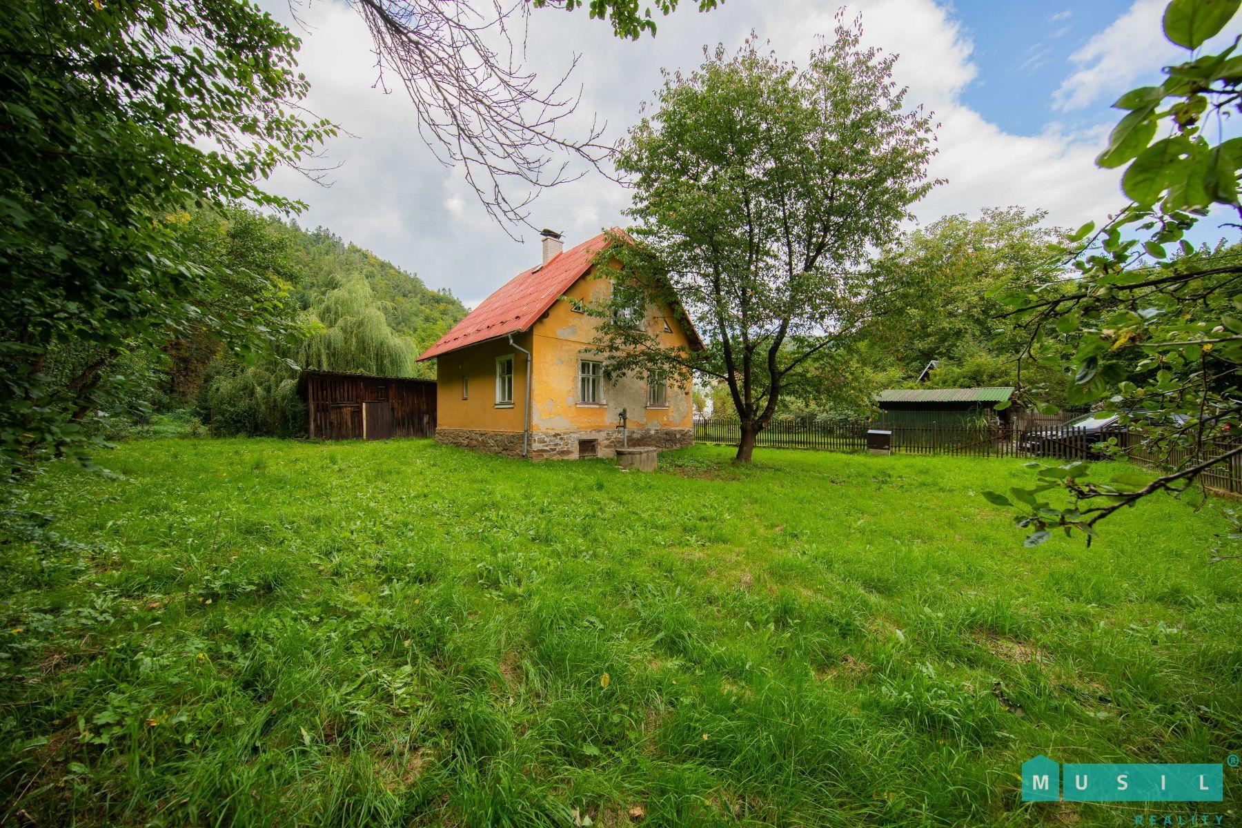 Prodej rekreační chaty v obci Oskava.