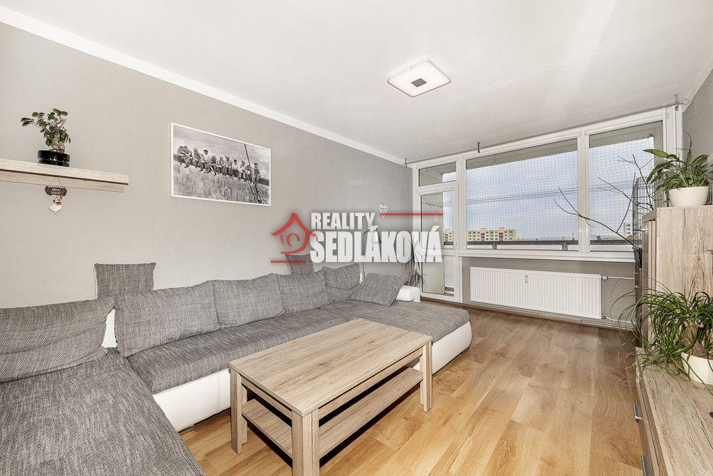 Prodej bytu 2+1 s lodžií- Chomutov - Písečná - byt v OV