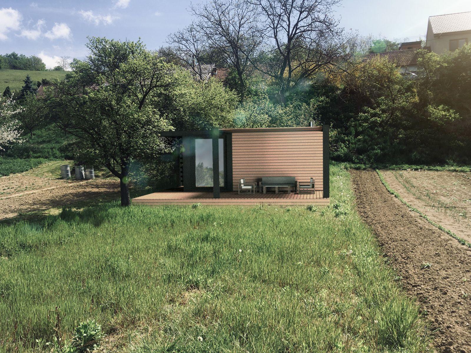 Prodej zahrady na Mobilhome 442 m2