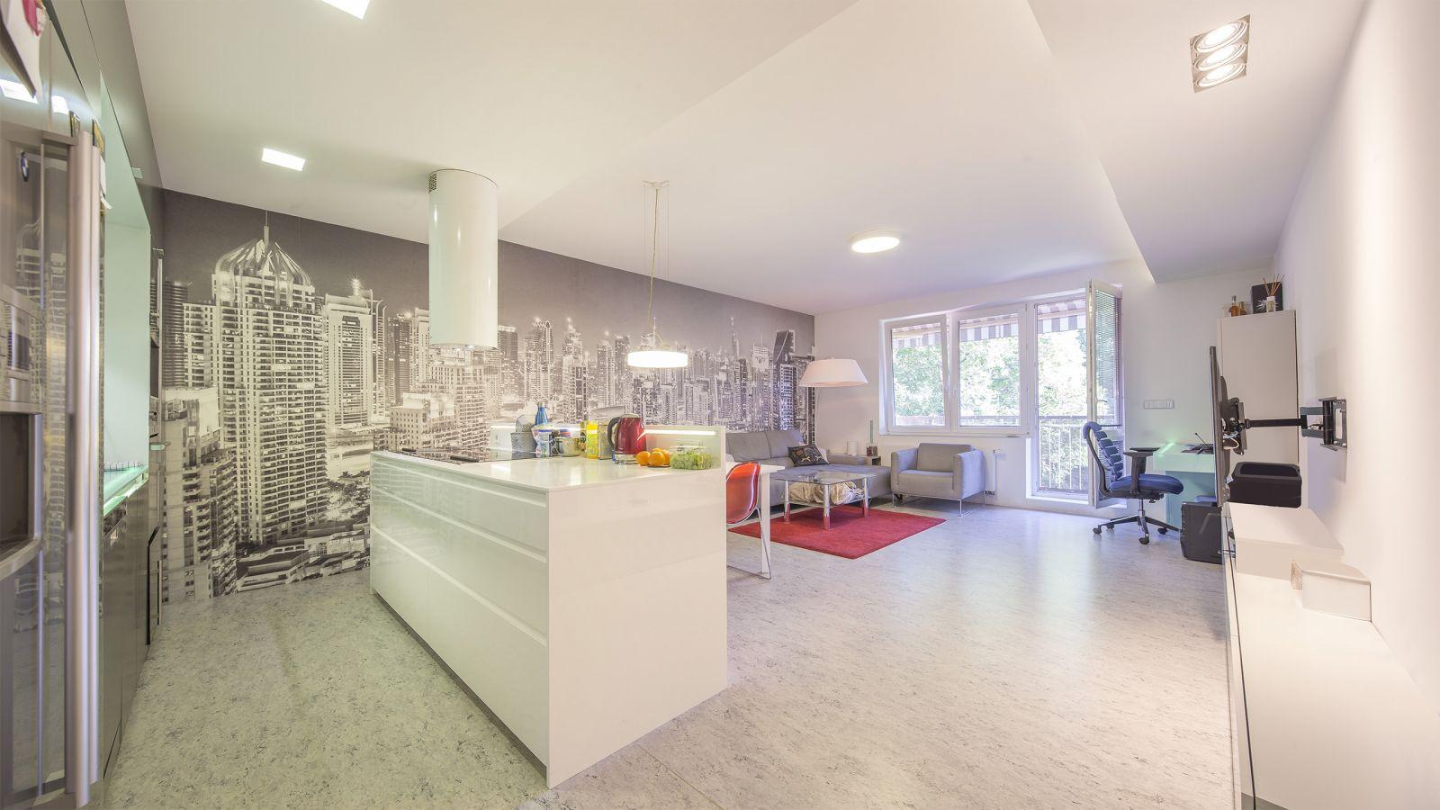 Pronájem vybaveného bytu 4+kk 118 m2 , Modřice