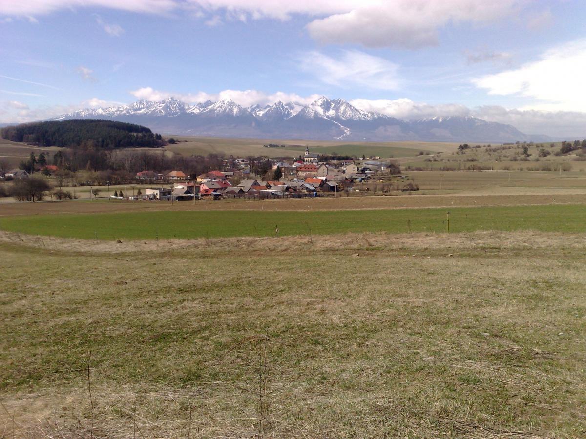 KRÁSNÝ VÝHLED, PĚKNÝ POZEMEK - Prodej pozemku, obec Vlková, Kežmarok