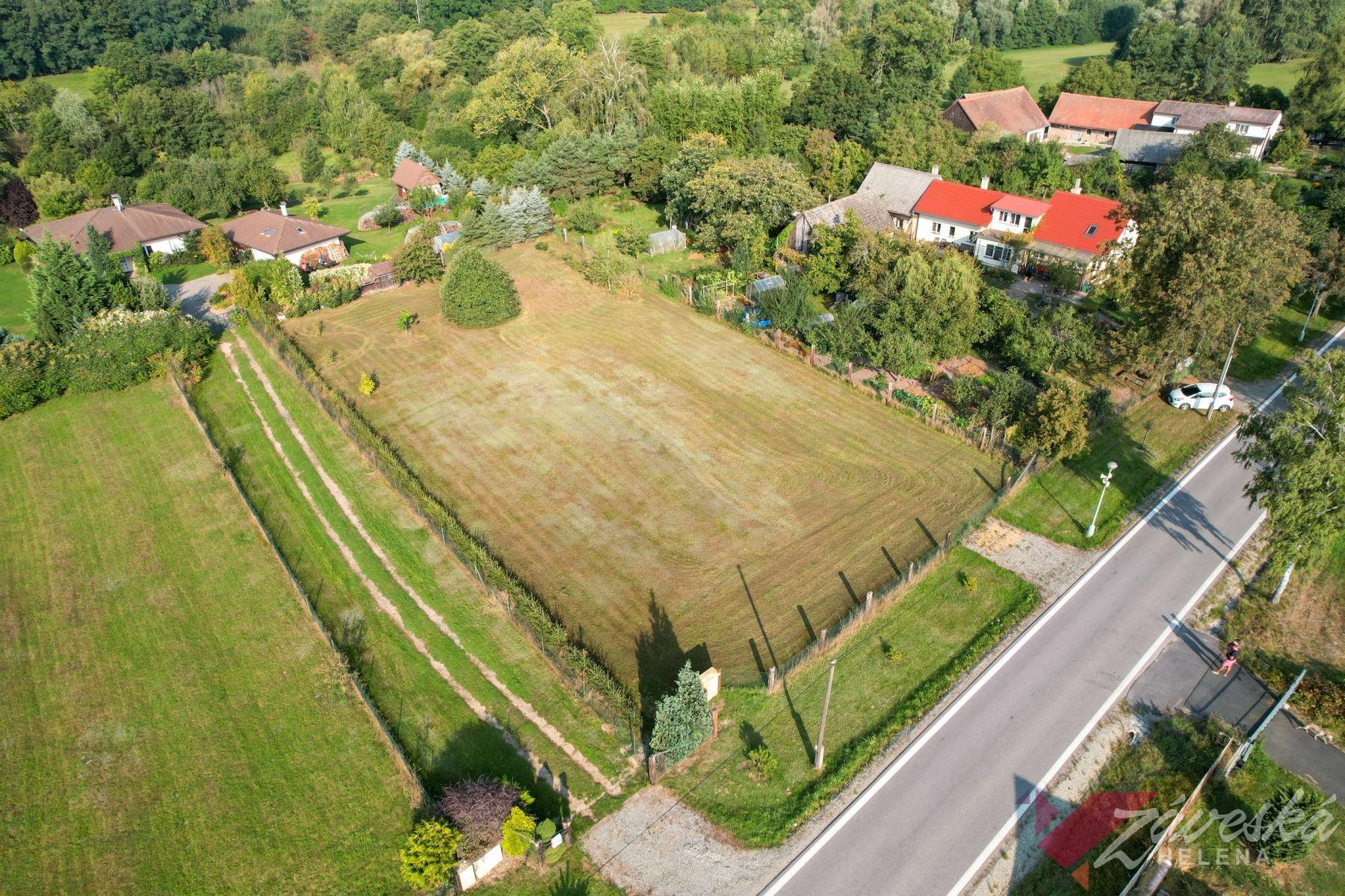 Stavební pozemek 2061 m2, Mladá Boleslav, Rabakov