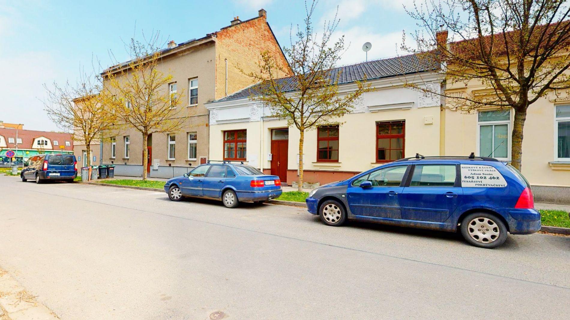 Prodej řadového domu v širším centrum Prostějova na ulici Rostislavova