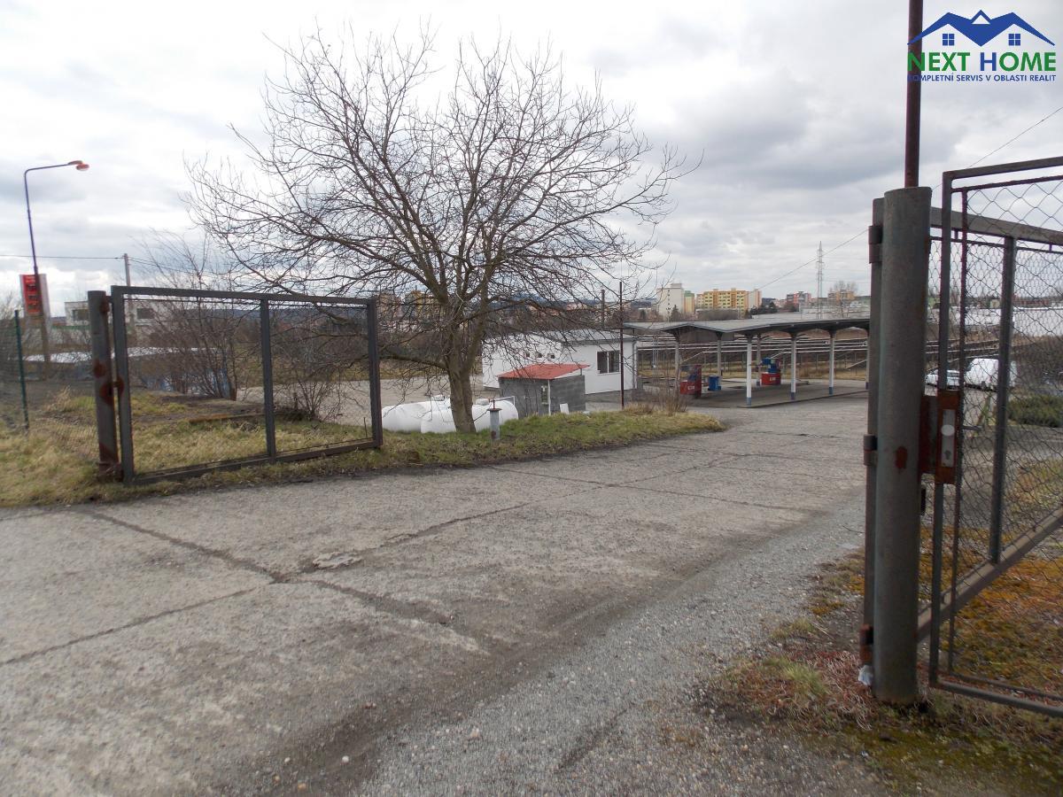 Prodej pozemek, vlastní benzínová stanice, plocha 2.331 m2, U nádraží, Štětí, okr. Litoměřice.