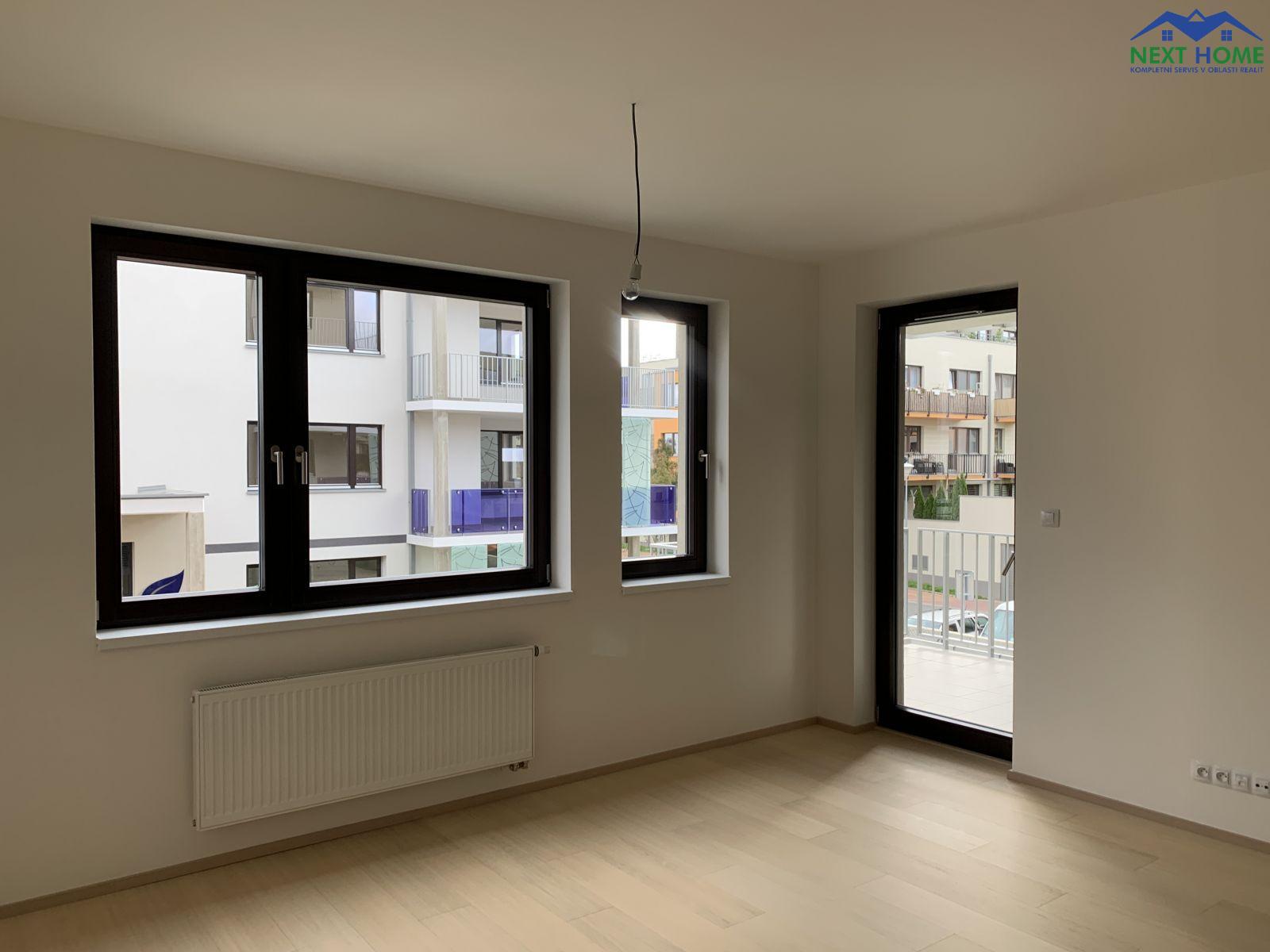 Pronájem byt 2+kk, novostavba v OV, 51,5 m2, ul. K Beranovu, Praha 8, Dolní Chabry.