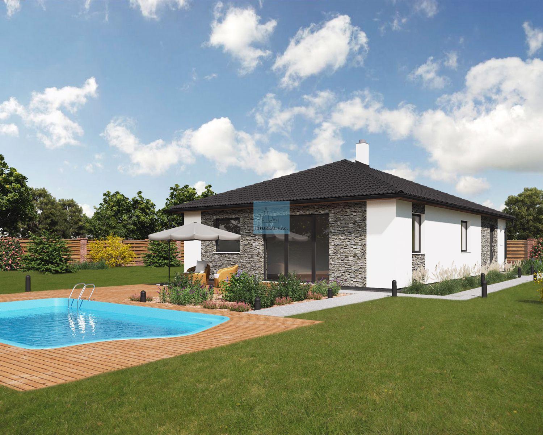 Prodej domu 5+kk 121m2, pozemek 1176m2, Píšťany, Litoměřice