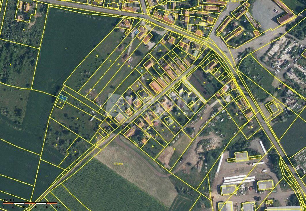 Prodej Pozemku 1 265 m2 - Veliká Ves
