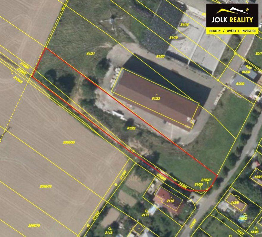 Prodej komerčního pozemku v obci Vřesina u Ostravy