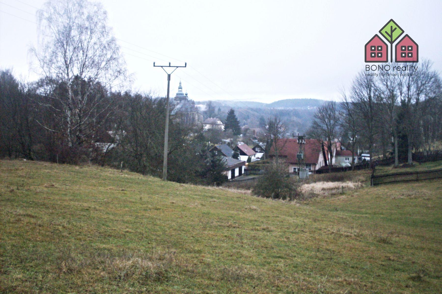 stavební pozemek, 1652 m2, okres Sokolov, obec Horní Slavkov